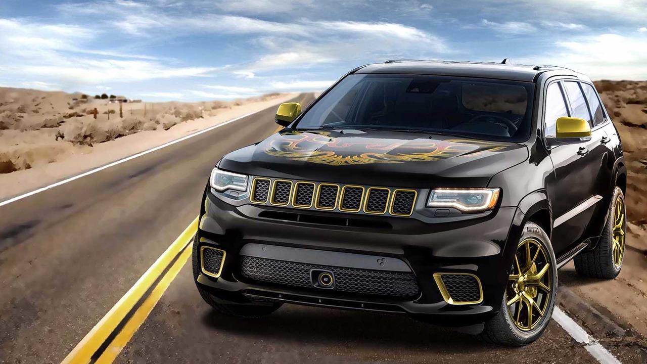 Custom Jeep Grand Cherokee >> Bandit Jeep Grand Cherokee Trackhawk Custom Motor1 Com Photos