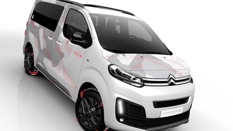 Citroen to unveil SpaceTourer concept at Geneva Show