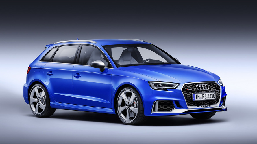Audi RS3 production halted for Europe
