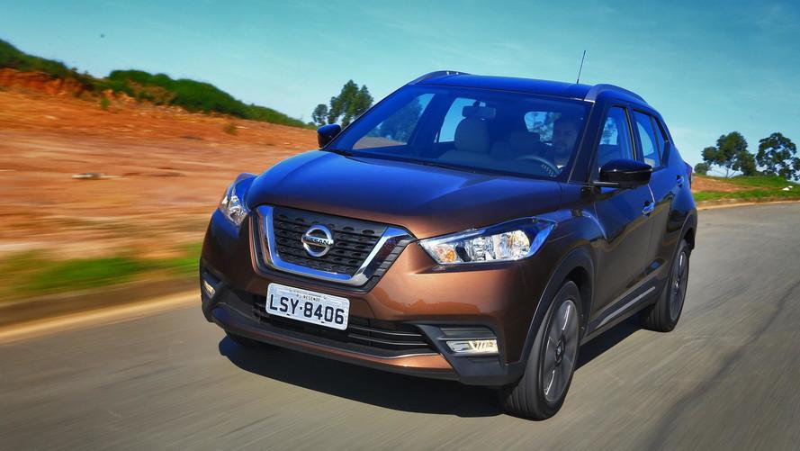 Nissan Kicks 2019 terá nova central multimídia e preços elevados