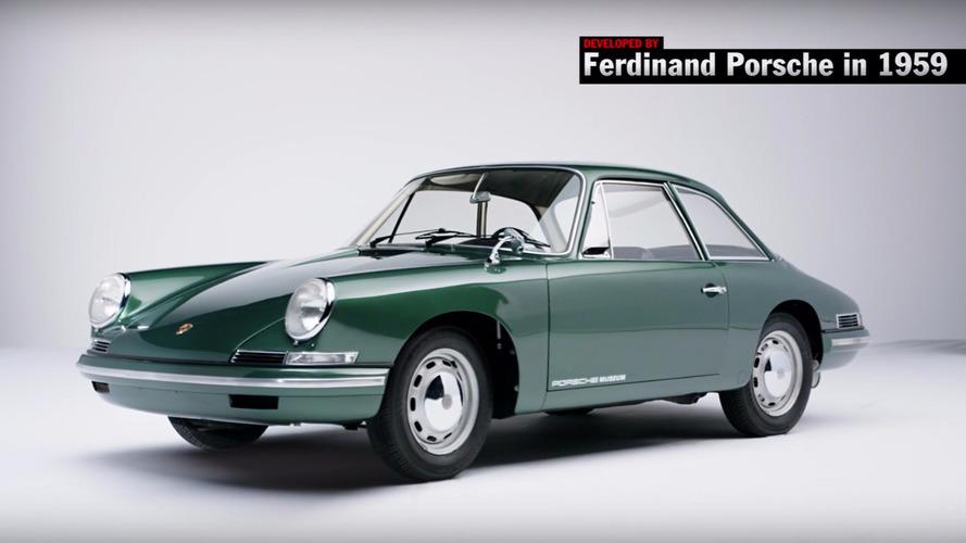 Top 5 concept-cars Porsche