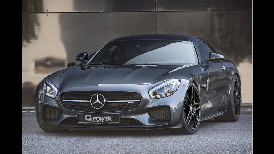 G-Power tunt Mercedes-AMG GT
