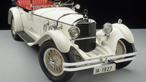 1927 Mercedes-Benz Model S Beyaz Fil