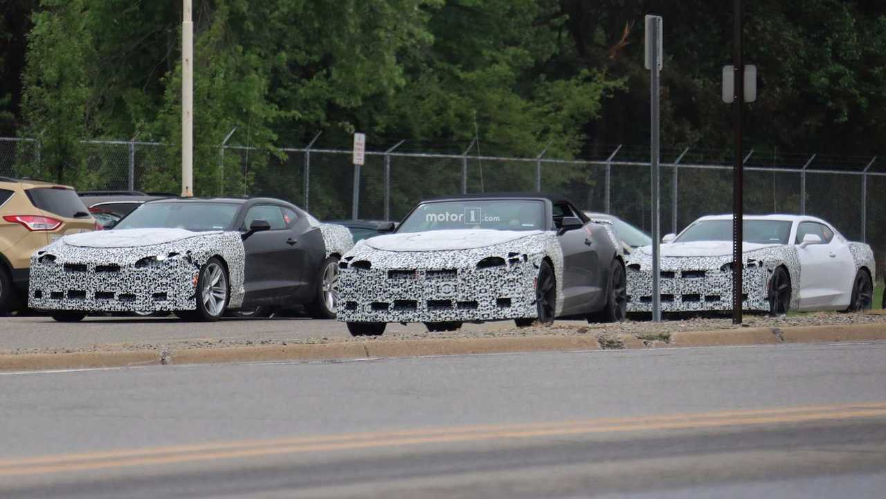 2019 Chevy Camaro Lineup Spied