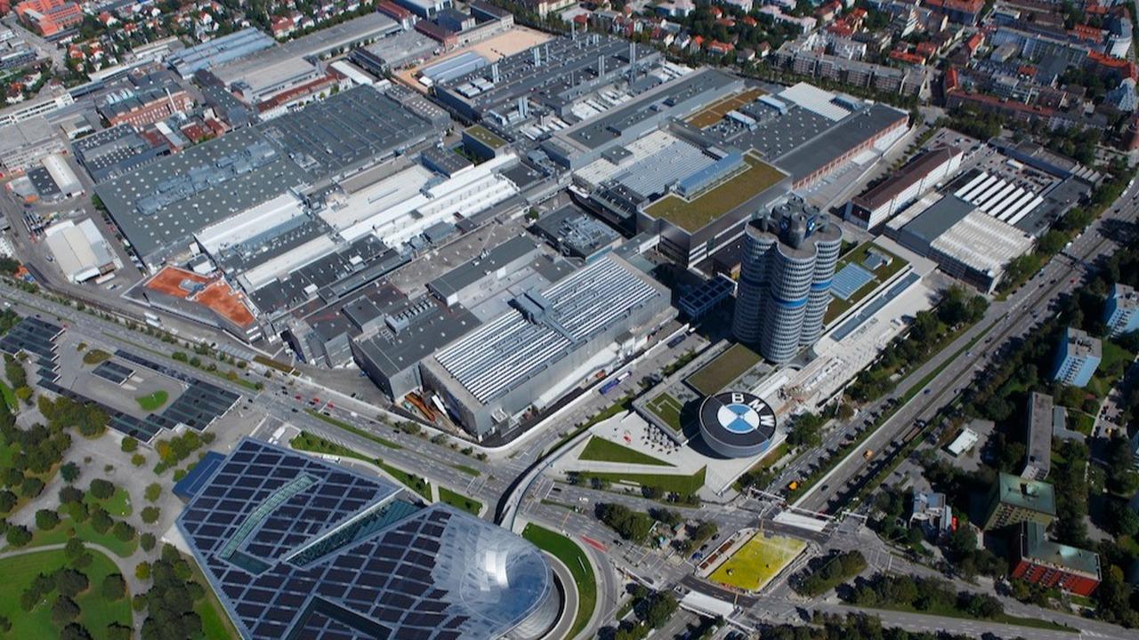 BMW usine