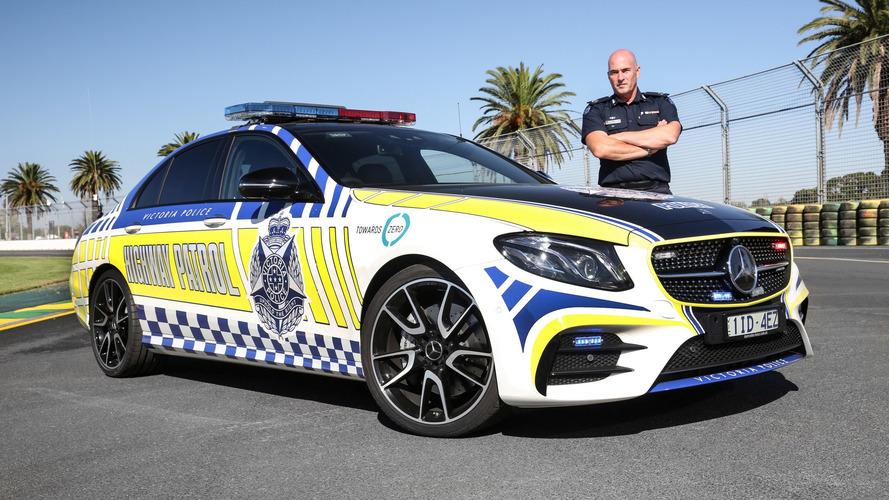 Mercedes-AMG E43 Sedan highway patrol car for Victoria Police