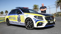 Mercedes-AMG E43 Sedan highway patrol car for Victoria Police