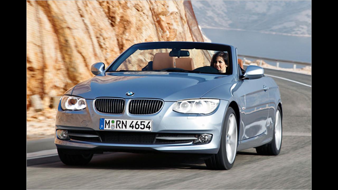 Platz drei: BMW 3er Cabrio