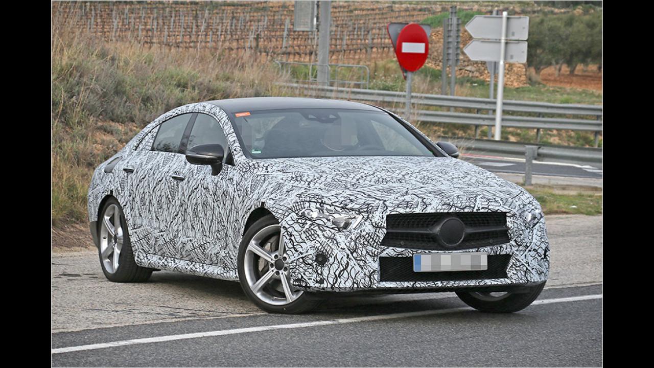 Erwischt: Mercedes CLS