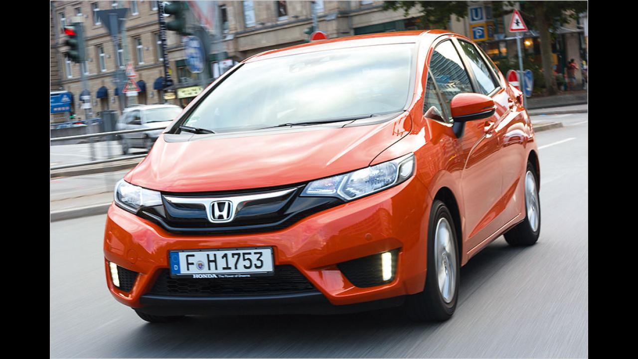Kleinwagen: Honda Jazz