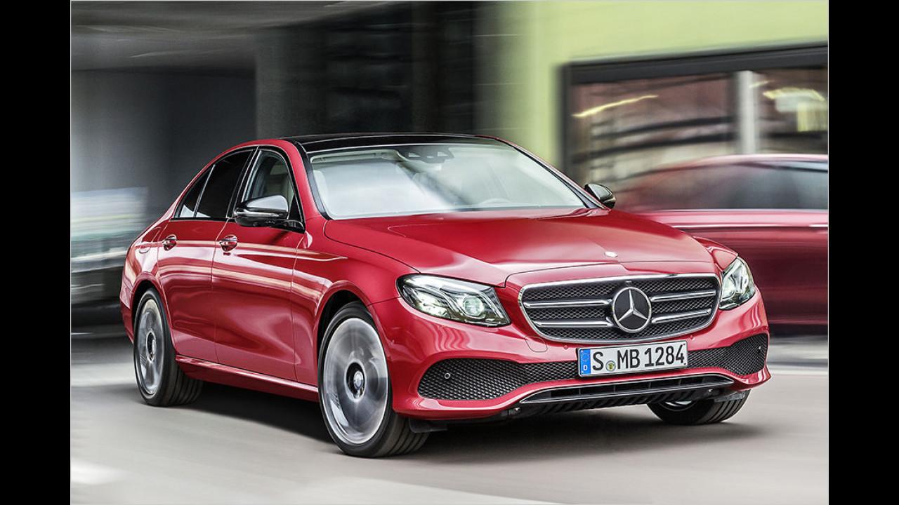Im Aufwind: Mercedes E-Klasse