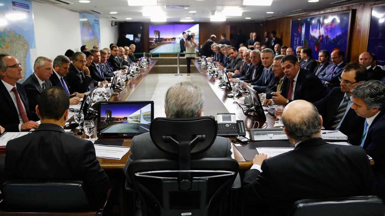 Reunião - Anfavea e Michel Temer sobre o Rota 2030