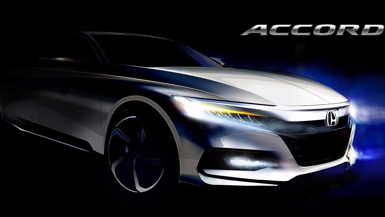 2018 Honda Accord eskiz teaser