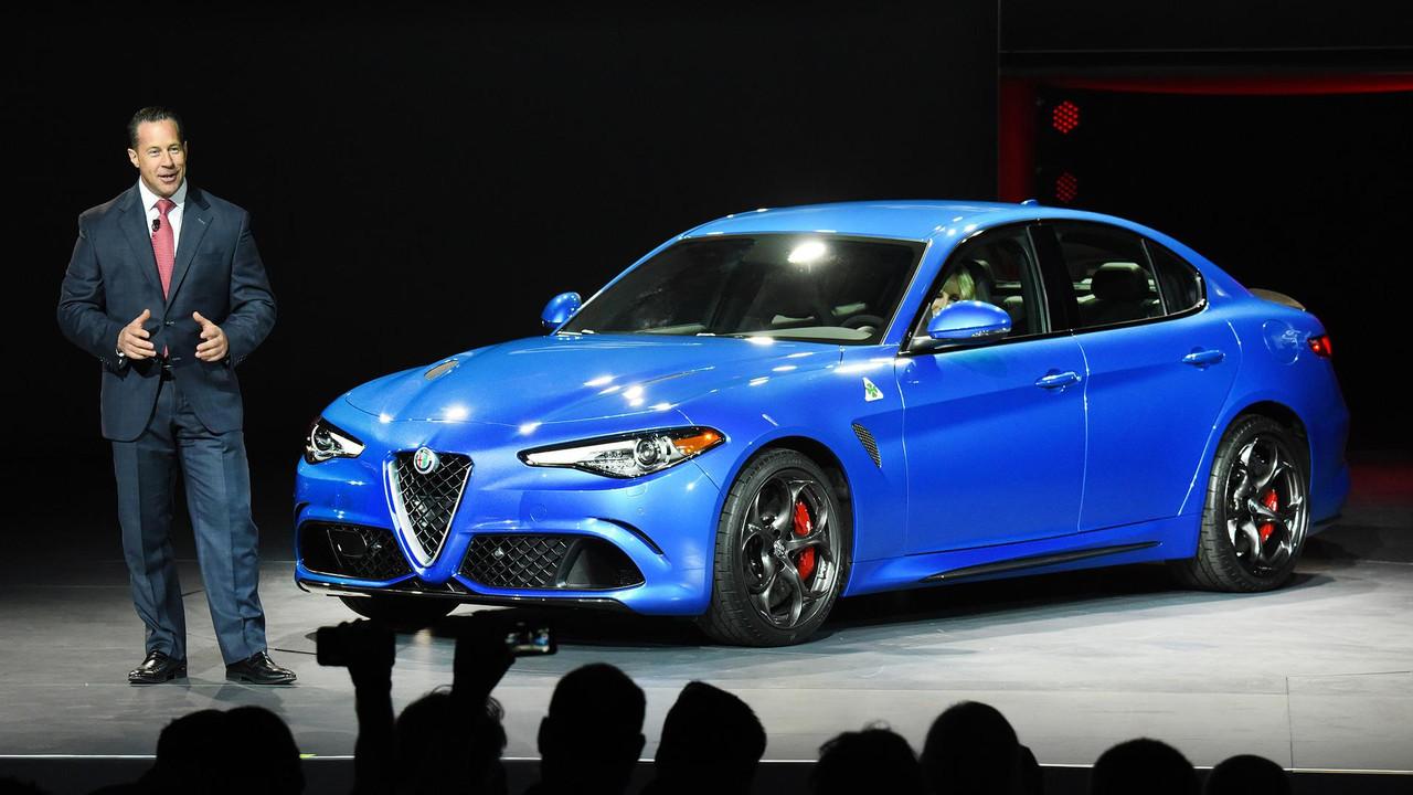Alfa Romeo Head Reid Bigland