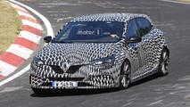 2018 Renault Megane RS Nürburgring casus fotoğrafları