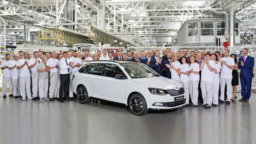 Skoda Celebrates Production Of Four Millionth Fabia