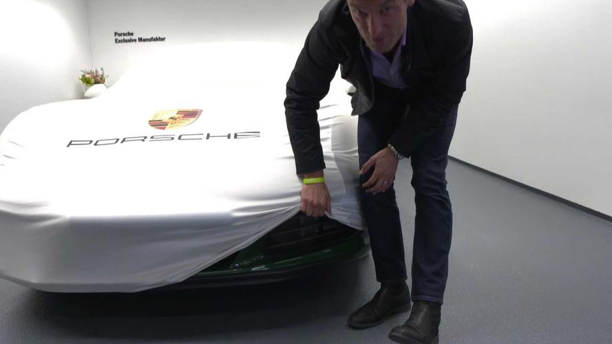 Mark Webber anuncia un nuevo modelo de Porsche