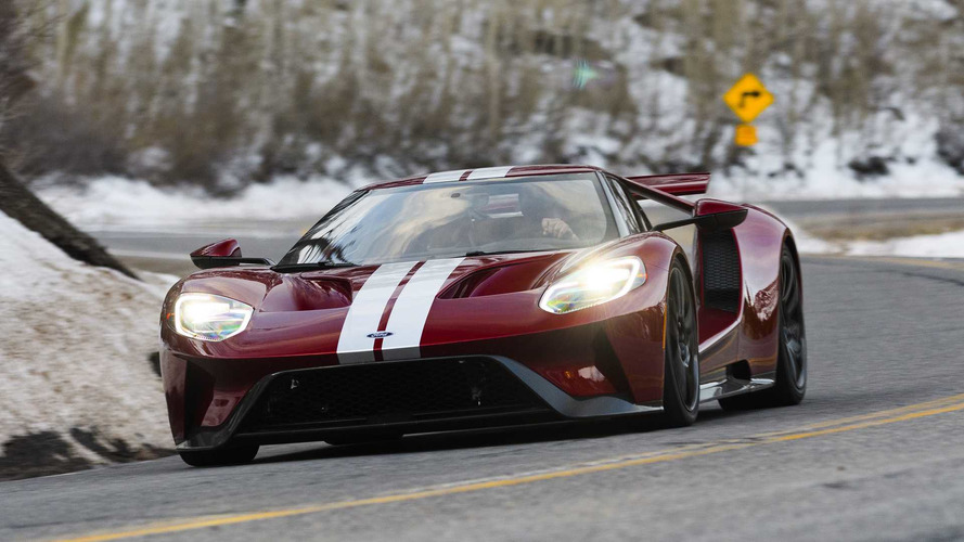 2017-2018 Ford GT Recalled For Hydraulic Leak, Fire Risk