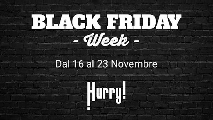 Black Friday anticipato per il noleggio auto con Hurry!