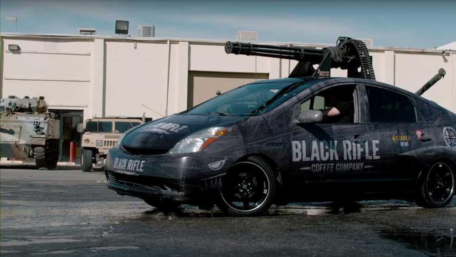 The Most Dangerous Toyota Prius Has An M61 Vulcan Cannon
