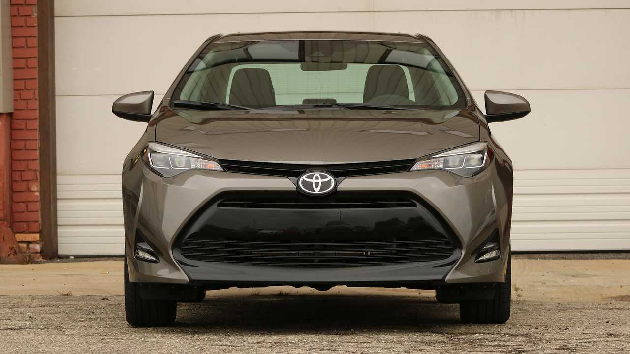2017 Toyota Corolla Front