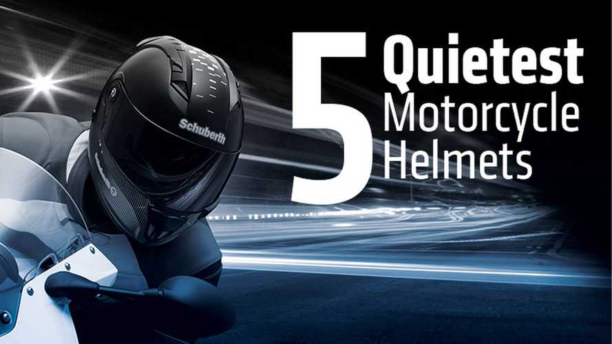 5 Quietest Motorcycle Helmets