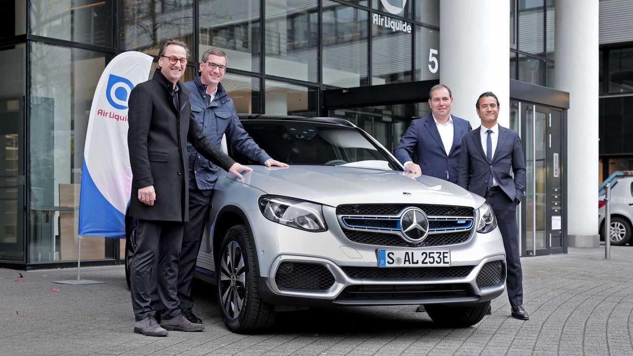 Mercedes-Benz GLC F-Cell 2018 Auslieferung