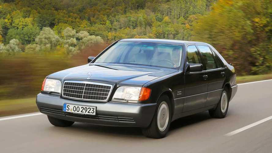 Mercedes 600 SEL W140 1991