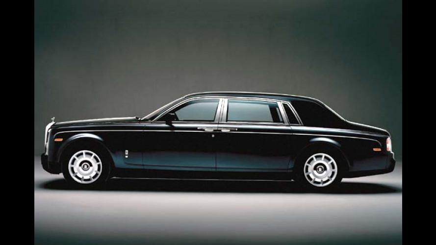 Rolls-Royce Phantom (2005) bekommt Fond-orientierte Langversion