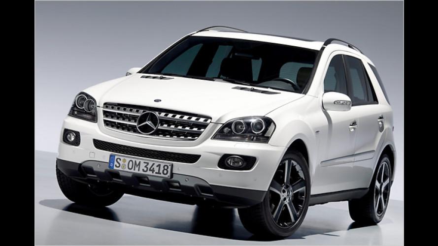 Happy Birthday: Mercedes bringt Sondermodell der M-Klasse