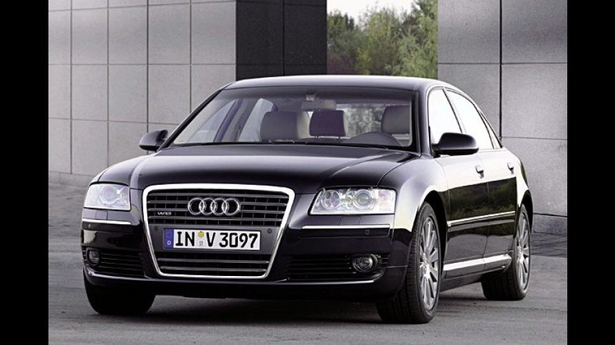Audi A8 L 6.0 (2003): Langversion mit 450 PS starkem Zwölfzylinder