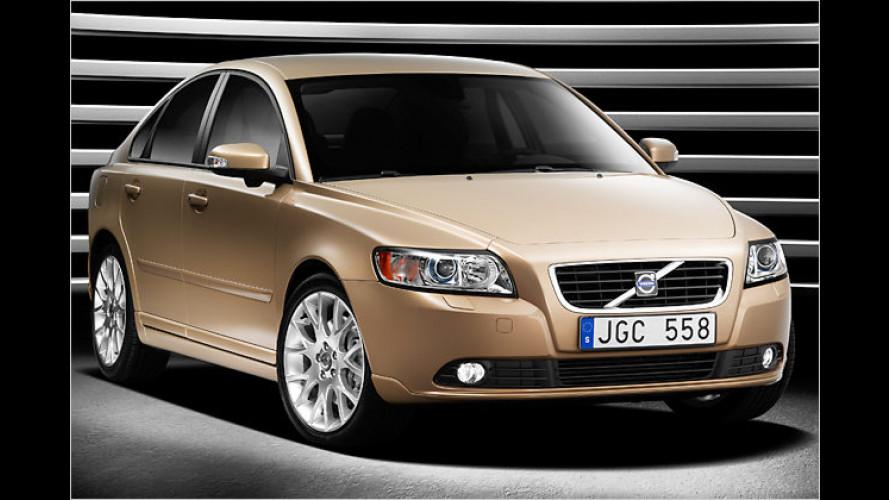 Volvo überarbeitet die Limousine S40 und den Kombi V50