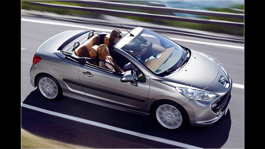 Peugeot im Jahr 2007: Fünf neue Löwen gehen an den Start