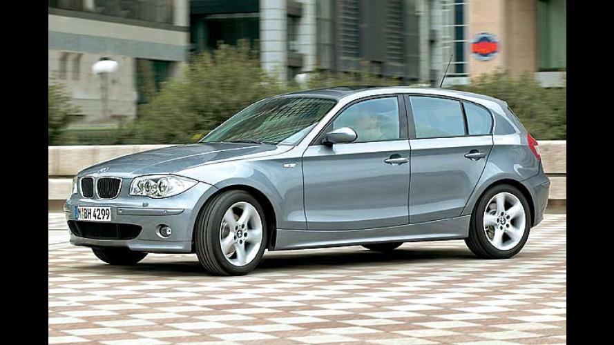 BMW 1er startet im Herbst als fünftüriger Hecktriebler