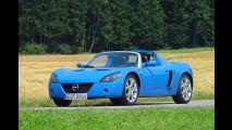 Opel Speedster am Ende
