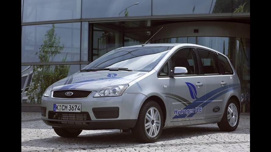 Ford Focus C-Max mit Wasserstoff-Verbrennungsmotor
