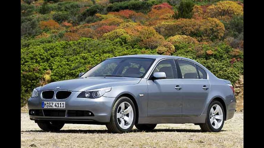 Preise für die Modelle BMW 535d, M5, 630i und X3 2.0d