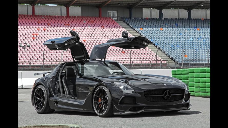 Spezieller Umbau des Mercedes SLS AMG zum