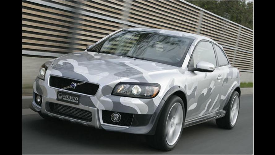 Concept Car: Volvo C30 mit Allradantrieb von Heico