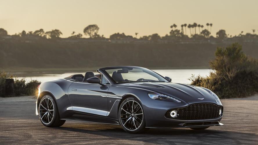 Aston Martin completa linha Vanquish Zagato com novos modelos
