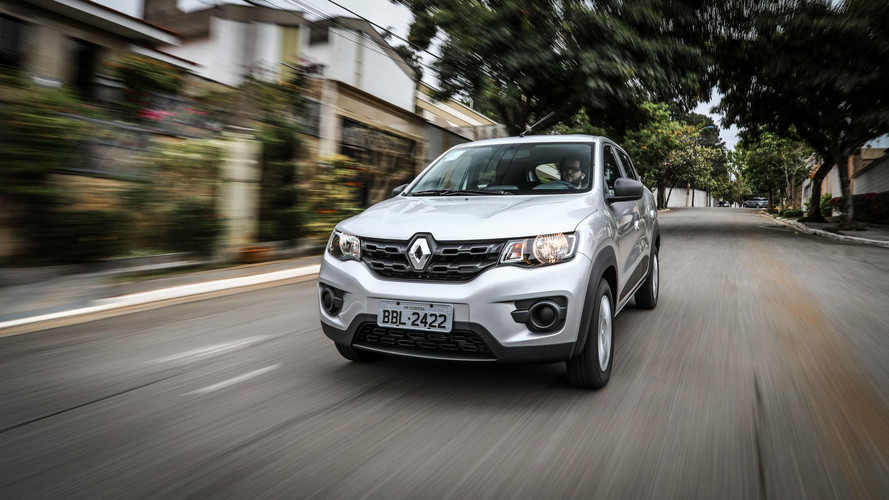 Teste instrumentado Renault Kwid Zen 1.0 - Receita pop