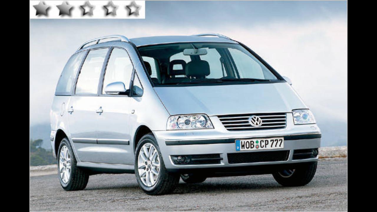 Volkswagen Sharan 2.8 V6: 44 Punkte