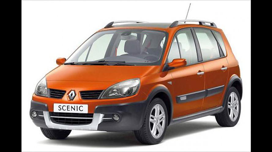 Renault zeigt Scénic Conquest und Espace Tech Run