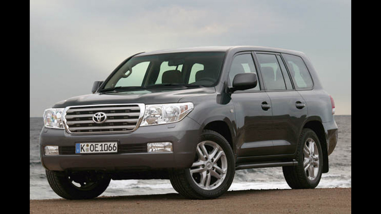Toyota Land Cruiser V8 4.5 D-4D Automatik 5-türig