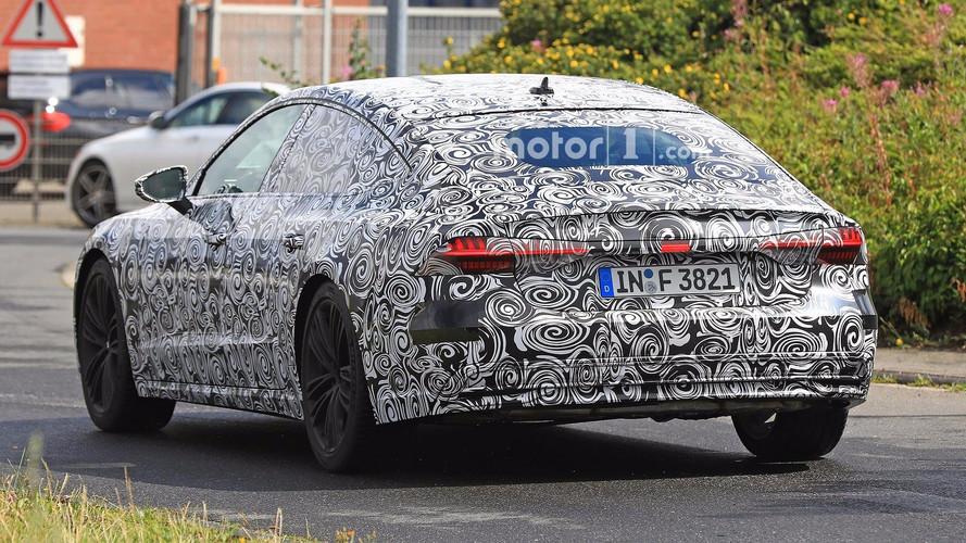 Audi A7 2018, fotos espía