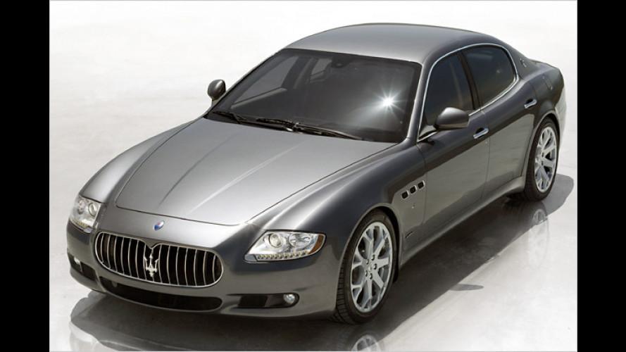 Neuer Look fürs Flaggschiff: Maserati liftet den Quattroporte