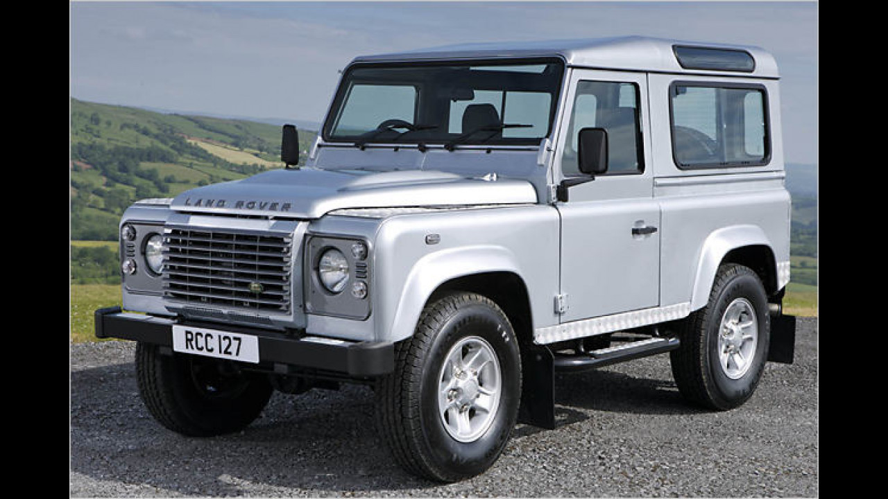 Alternative: Land Rover Defender Station Wagon 90 Td4