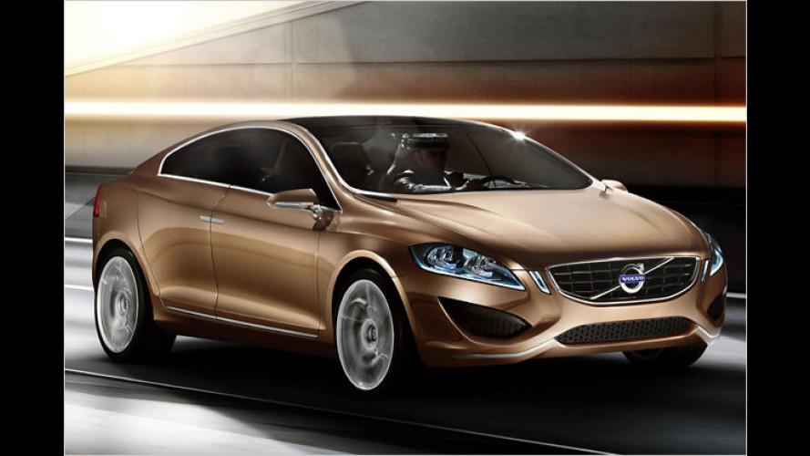 Scharfer Schwede: Volvo S60-Studie feiert Premiere in Detroit