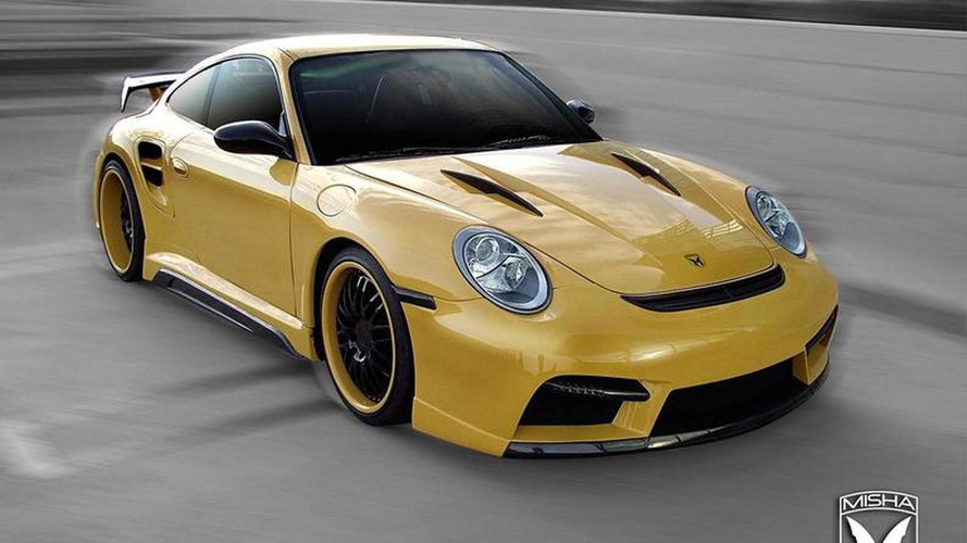 Porsche 911 Turbo body kit by Misha Design