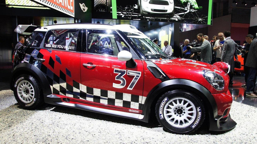 MINI Countryman WRC revealed